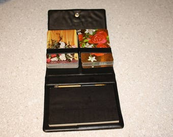 Two decks of playing cards in case