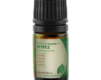 Naissance Myrtle Essential Oil - Coughs, Colds, Flu, Insomnia, Anxiety & Eczema