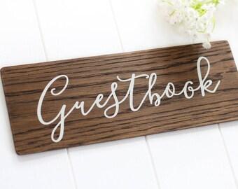 Guestbook Wedding Sign, Wooden Sign, Rustic Decor. Boho Wedding. Reception Decor