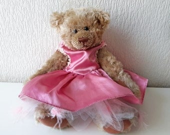 "Vintage Dress for 15"" Teddy Bear by Bear Factory"