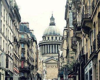 Paris Photograph, Pantheon Picture, Paris Photography, Latin Quarter, French Decor, Wall Art, Travel Photo, 8 x 10 Print, 11 x 14 Print