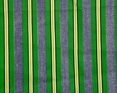 Kelly & lime green stripe...
