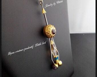 Jewelry creators pendant. Little lord