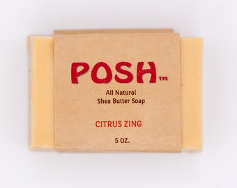 Our all natural shea butter soap, is a blend of shea butter with other natural oils, Sure to leave your skin supple!