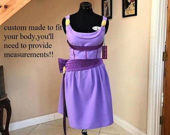 Megara dress , Megara costume ,short version .