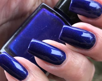 Prince  royal purple shimmer nail polish