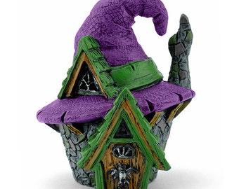 Fairy Garden  - Micro Mini Witch Hat House - Miniature