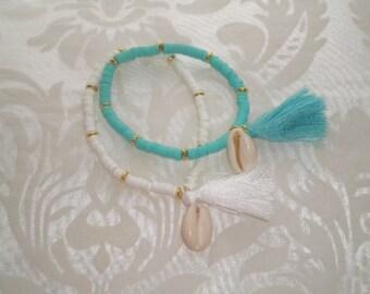 Lot of 2 bracelets Bohemia