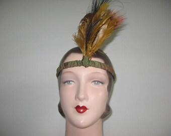 Vintage Bandeau Headdress-Headache Bands, Set of 2!