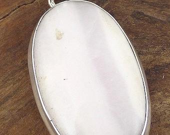 ARAGONITE PENDANT PINK natural stone, aragonite jewelry, jewels, VK13 aragonite