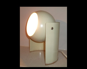 Mid-century modern eyeball lamp - table, spotlight or accent - rotating head - very cool!