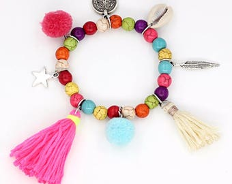 Bracelet charms and PomPoms SYDNEY