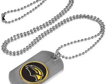 Southern Mississippi Eagles Stainless Steel Dog Tag Necklace