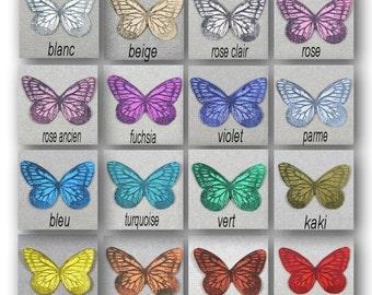 "Butterfly silk soft 3.5 cm ""Mia"""