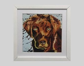 Framed Dog Art Print | Wall Print | Home Decor | Office Decor | Wall Art