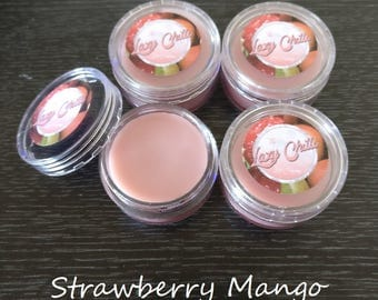 Strawberry Mango Lip Balm 15g Pot