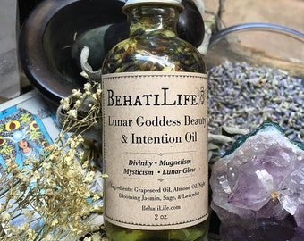 Lunar Goddess- All Over Beauty Oil & Moon Bath