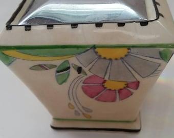 An Art Deco sugar bowl