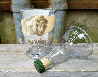 Buffalo Trace Bourbon Whiskey Soy Candle - Bottle in Waiting
