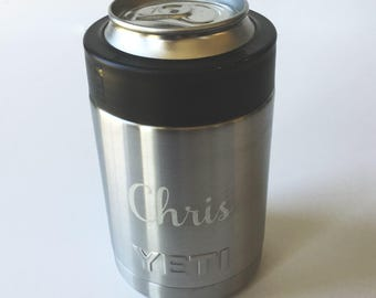 Yeti - name included - yeti colster - yeti engraved - personalized colster - engraved colster - yeti cup - etched yeti - engraved - wlm