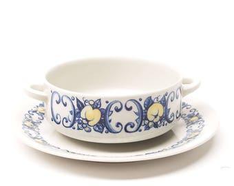 Villeroy & Boch, Cadiz, Handled Soup Bowl or Ramekin