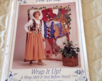 Four Corners Wrap it Up skirt and vest