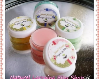 Custom Natural Organic Lip Balm Jar Jojoba, Vitamin E, Choose: Coconut, Shea Butter, Cocoa Butter, Sweet Almond, Aloe Vera, Avocado 5g .15oz
