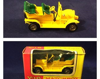 Vintage Matchbox Car, Matchbox Models Of Yesteryear, Vintage Toy Car