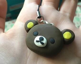 Rilakkuma Cute Phone Strap Charm Keychain