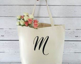 Personalized Tote Bag - Personalized Bridal Tote Bag - Monogram Tote Bag - Tote Bag - Bridesmaid Gift
