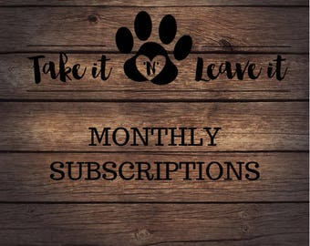 Monthly Subscription - New Shirt Each Month!