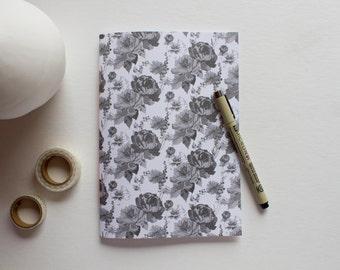 floral journal, writing journal, prayer journal, travel journal, lined journal, sketchbook journal, small sketchbook, cute notebooks