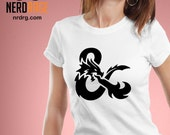 Dungeons and Dragons Ampersand T-shirt - D&D Inspired Shirt Design - DnD Ampersand Tee - Custom Shirts Available