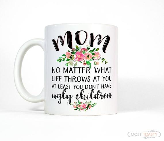 Gift Ideas Mom Christmas: Mom Mug Christmas Gift For Mom From Daughter Mom Gift From