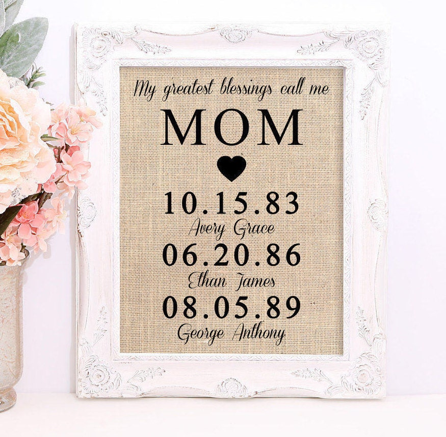 Personalized Gift For Mom Mother 39 S Day Gift Gift For