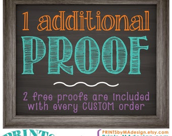 One Additional Proof of a Custom Order