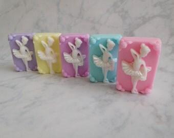 Dancer Soap - Ballerina Soap - Ballerina Favors - Dancer Favors - Dance Group Favors - Dance Party Favors - Kids Novelty Soap - Girls Soap