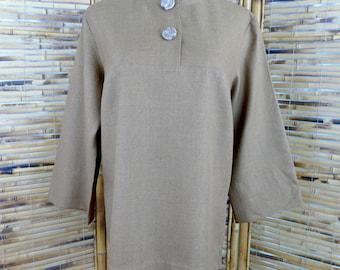 1960s Minimalist Tunic - Large