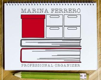 "LOGO PREMADE ""Professional Organizer"""