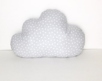 Cloud pillow, nursery pillow, baby pillow, nursery decoration, crib pillow, baby gift, crib bedding.