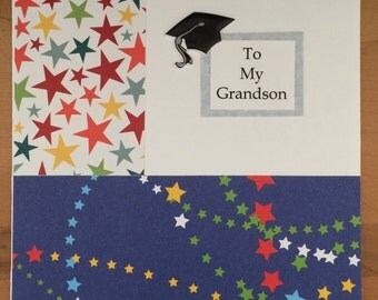 SALE!! Grandson Graduation Card