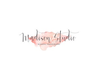 Watercolor Logo Design | Calligraphy Logo | Photography Logo | Business Logo | Boutique Logo | Custom Logo Design