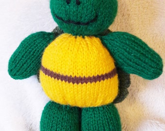 Teenage Mutant Ninja Turtle knitted toy, Christmas Gift, soft toy, children, kids