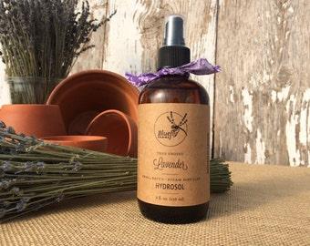 Lavender Hydrosol — 100% Natural Aromatherapy Spray Mist (8 oz.)