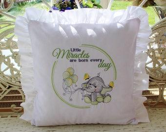 Pillowcase baby elephant