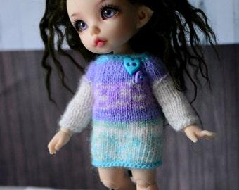 sweater for pukifee tiny sd bjd dolls dress