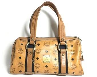 Authentic MCM Satchel bag. Mcm crossbody bag. Mcm handbag. Mcm small bag. Vintage Mcm bag. MCM travel bag