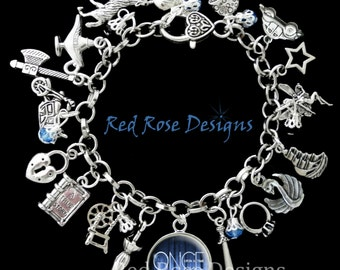 Once Upon A Time Themed Charm Bracelet