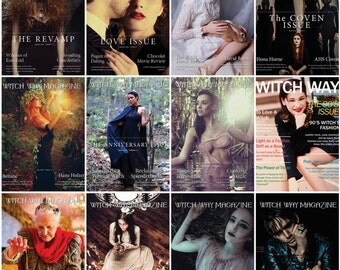 Every 2016 Issue - Witch Way Magazine - Volumns 8-19 - Pagan/Magic/Spells/Witchcraft/Wiccan/Spirituality/Metaphysical/Religion