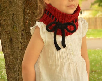 CROCHET PATTERN- The Scarlett Warmer (Baby, Toddler, Child, Teen, Adult sizes)-crochet headwarmer pattern crochet cowl- Instant PDF Download